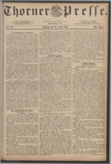 Thorner Presse 1885, Jg. III, Nro. 98 + Beilage