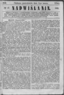 Nadwiślanin, 1861.03.11 R. 12 nr 27