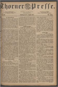 Thorner Presse 1885, Jg. III, Nro. 190