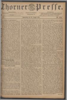 Thorner Presse 1885, Jg. III, Nro. 193