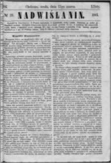 Nadwiślanin, 1861.03.13 R. 12 nr 28