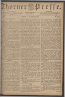 Thorner Presse 1885, Jg. III, Nro. 216
