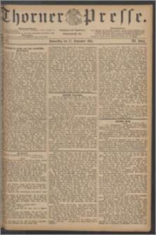 Thorner Presse 1885, Jg. III, Nro. 217