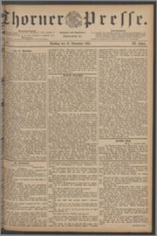 Thorner Presse 1885, Jg. III, Nro. 263
