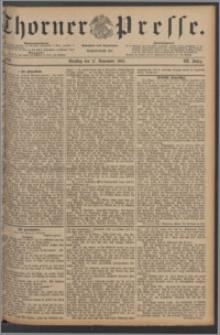 Thorner Presse 1885, Jg. III, Nro. 269