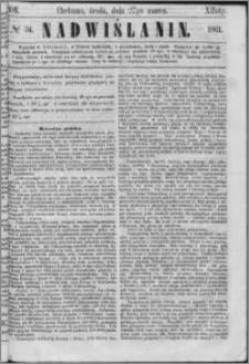 Nadwiślanin, 1861.03.27 R. 12 nr 34