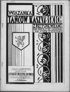 Wiązanka tańców kaszubskich z przyśpiewkami : na orkiestrę ludową i na chór 2 - głosowy