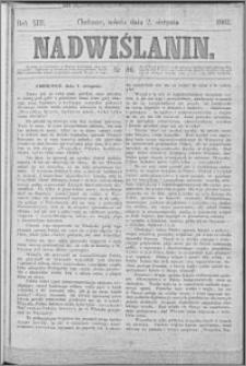 Nadwiślanin, 1862.08.02 R. 13 nr 86
