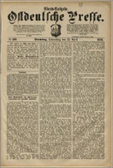 Ostdeutsche Presse. J. 2, 1878, nr 189