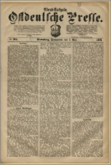 Ostdeutsche Presse. J. 2, 1878, nr 205