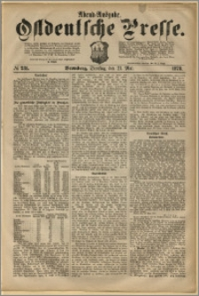 Ostdeutsche Presse. J. 2, 1878, nr 231