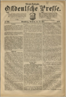 Ostdeutsche Presse. J. 2, 1878, nr 233