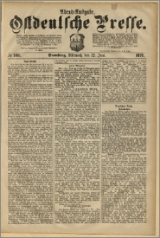 Ostdeutsche Presse. J. 2, 1878, nr 263