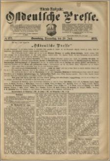 Ostdeutsche Presse. J. 2, 1878, nr 277