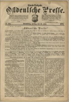 Ostdeutsche Presse. J. 2, 1878, nr 279