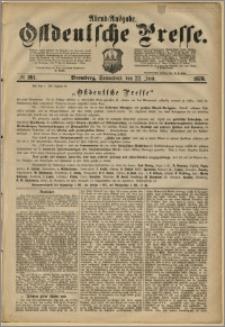 Ostdeutsche Presse. J. 2, 1878, nr 281