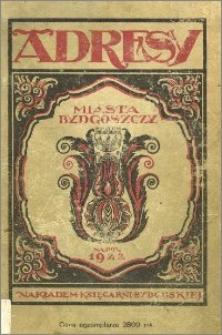 Adresy Miasta Bydgoszczy na rok 1922