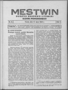 Mestwin, R. 4 nr 8, (1928)