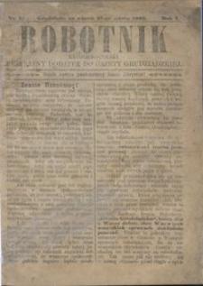 Robotnik Katolicko - Polski : bezpłatny dodatek do Gazety Grudziądzkiej 1905.03.21 R.1 nr 1