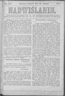 Nadwiślanin, 1862.08.28 R. 13 nr 97