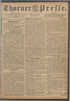 Thorner Presse 1886, Jg. IV, Nro. 4