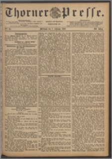 Thorner Presse 1886, Jg. IV, Nro. 28