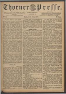Thorner Presse 1886, Jg. IV, Nro. 33