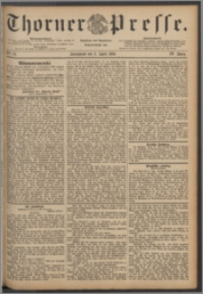 Thorner Presse 1886, Jg. IV, Nro. 79
