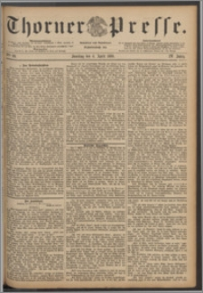 Thorner Presse 1886, Jg. IV, Nro. 80