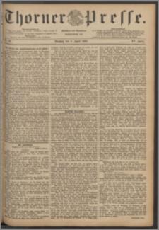 Thorner Presse 1886, Jg. IV, Nro. 81