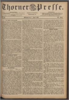 Thorner Presse 1886, Jg. IV, Nro. 82