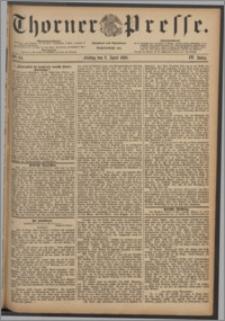 Thorner Presse 1886, Jg. IV, Nro. 84