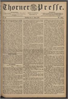 Thorner Presse 1886, Jg. IV, Nro. 86 + Beilage