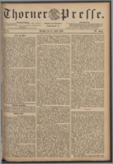 Thorner Presse 1886, Jg. IV, Nro. 87