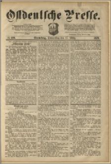 Ostdeutsche Presse. J. 3, 1879, nr 126