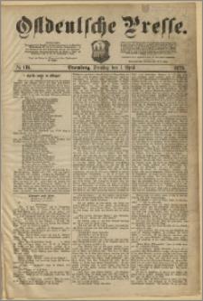 Ostdeutsche Presse. J. 3, 1879, nr 131