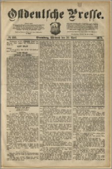 Ostdeutsche Presse. J. 3, 1879, nr 157
