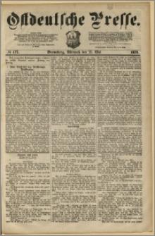 Ostdeutsche Presse. J. 3, 1879, nr 177