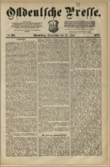 Ostdeutsche Presse. J. 3, 1879, nr 196