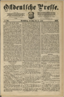 Ostdeutsche Presse. J. 3, 1879, nr 201