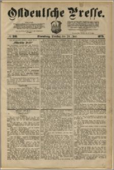Ostdeutsche Presse. J. 3, 1879, nr 208