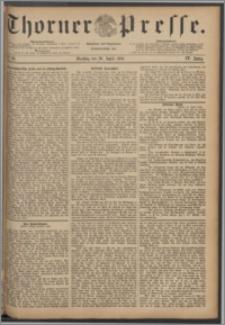 Thorner Presse 1886, Jg. IV, Nro. 93
