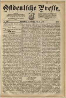 Ostdeutsche Presse. J. 3, 1879, nr 245