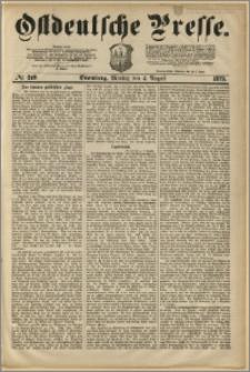 Ostdeutsche Presse. J. 3, 1879, nr 249