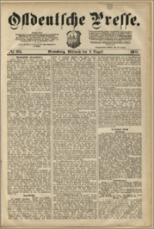 Ostdeutsche Presse. J. 3, 1879, nr 251