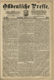 Ostdeutsche Presse. J. 3, 1879, nr 256