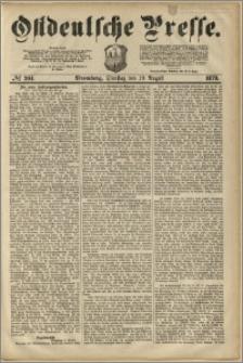 Ostdeutsche Presse. J. 3, 1879, nr 264