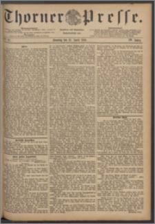 Thorner Presse 1886, Jg. IV, Nro. 97 + Beilage