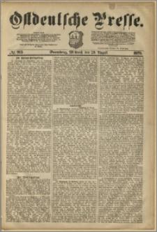 Ostdeutsche Presse. J. 3, 1879, nr 265