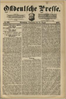 Ostdeutsche Presse. J. 3, 1879, nr 266